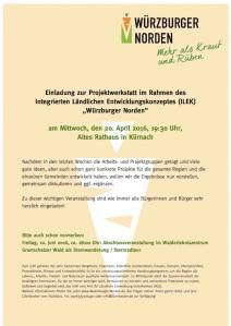 2016-04-WüNo-Einladung Projektwerkstatt